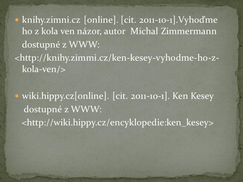 knihy. zimni. cz [online]. [cit. 2011-10-1]